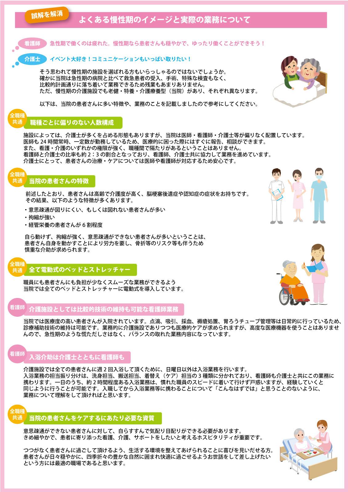 介護療養型の特徴2